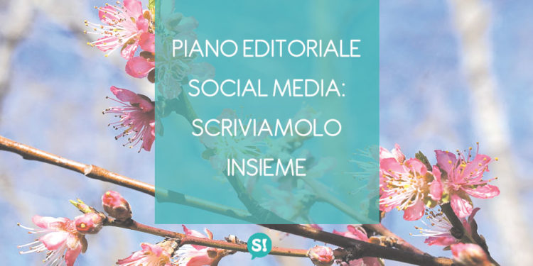sample piano editoriale social